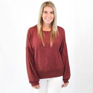Miss Me rustic sweater